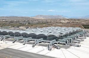 Panoràmica de l'aeroport d'Alacant