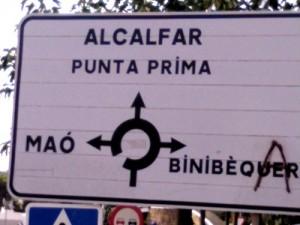 Vandalisme toponímic (encara)