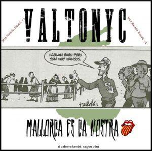 Valtonyc - Mallorca es ca nostra (Delantera) - www.hhgroups.com