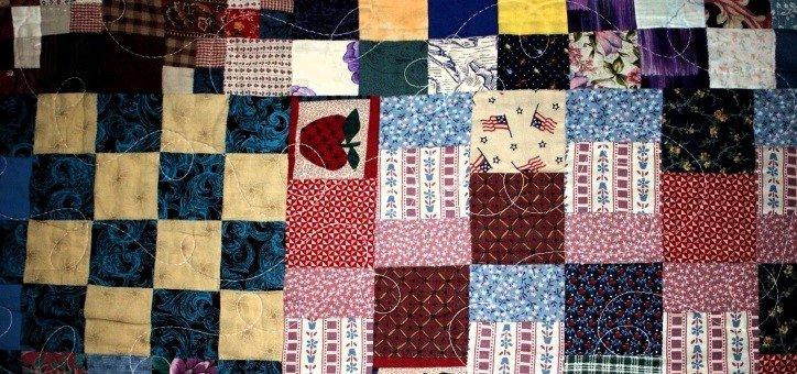 patchwork, quilt, texture