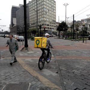 Plaza_Hermano_Miguel,_Quito_Glovo_app_Ecuador